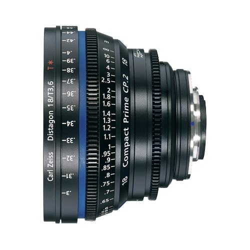 Объектив Zeiss Compact Prime CP.2 18/T3.6 Canon EF Объективы