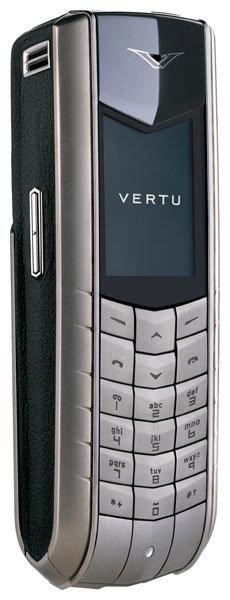 Телефон Vertu Ascent Black Leather