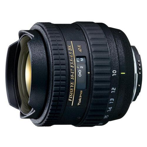Объектив Tokina AT-X 10-17mm f/3.5-4.5 (AT-X 107) AF DX Fish-Eye Nikon F