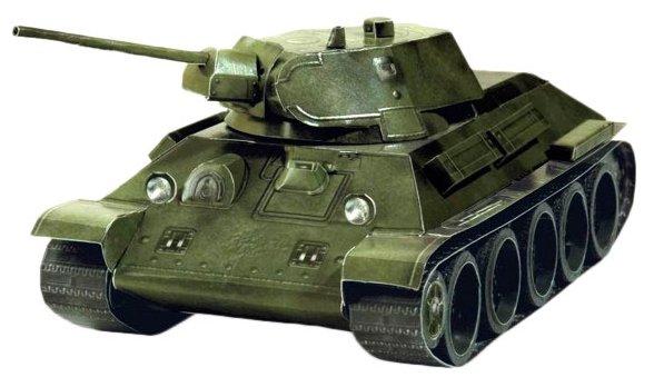 """Сборная модель из картона """"Танк T-34"""" образца 1941 года"""