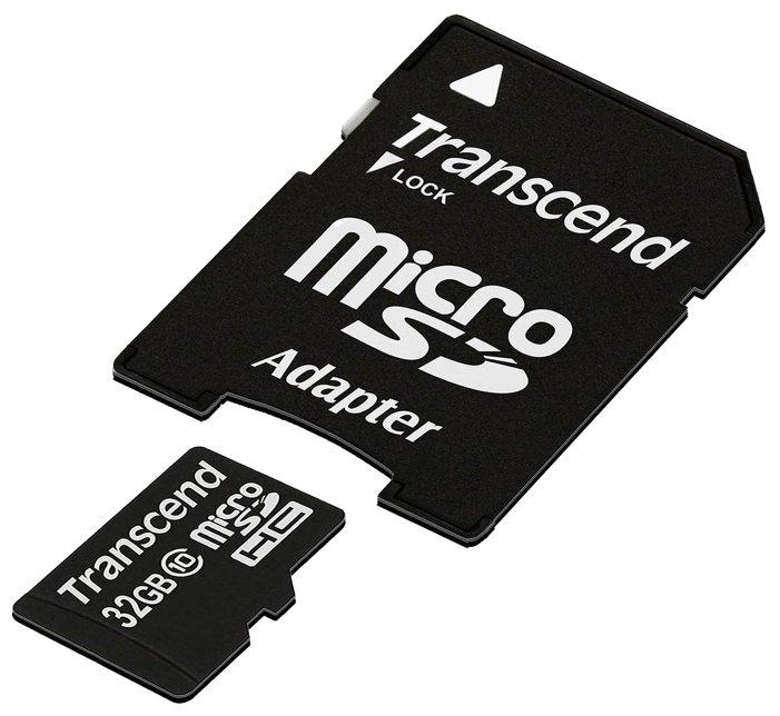 Карта памяти Флеш-накопитель Transcend Карта памяти Transcend 64GB UHS-I U3 SD card TS64GSDC300S