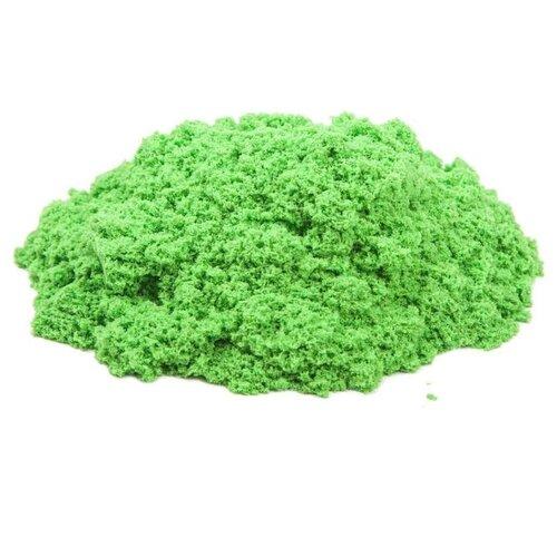 Кинетический песок Космический песок базовый зеленый 0.5 кг пластиковый контейнерКинетический песок<br>