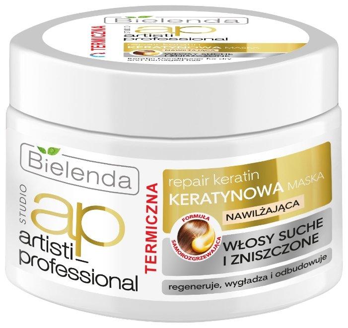 Bielenda ARTISTI PROFESSIONAL REPAIR KERATIN Маска для сухих и поврежденных волос