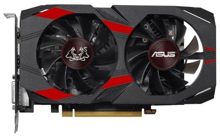 ASUS Видеокарта ASUS GeForce GTX 1050 Ti 1341MHz PCI-E 3.0 4096MB 7008MHz 128 bit DVI HDMI HDCP CERBERUS