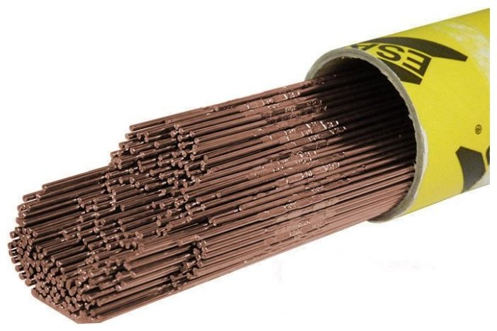 Пруток омедненный ESAB OK Tigrod 13.38 2.4 мм 5 кг