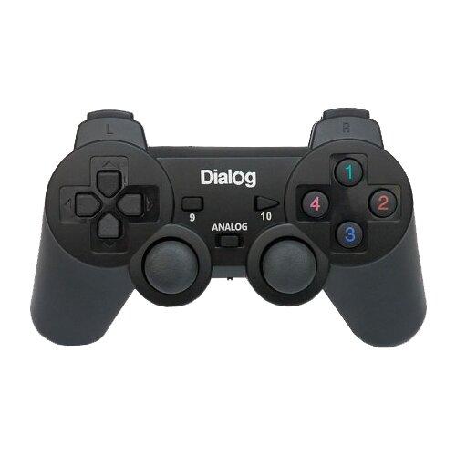 Геймпад Dialog GP-A11RF черный
