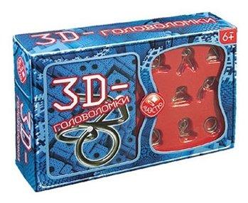 Набор головоломок Новый формат Маэстро 3D-Головоломки (180080) 9 шт.