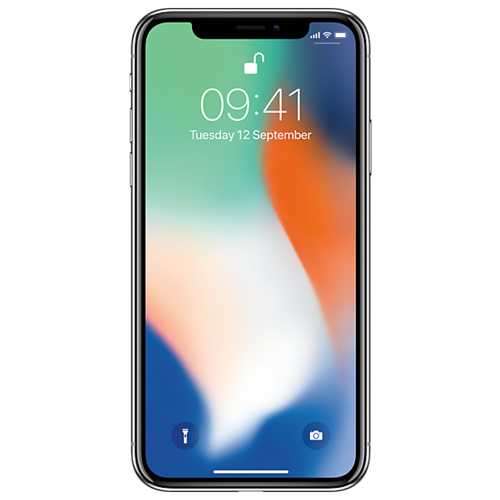 Купить Смартфон Apple iPhone X 64GB серебристый (MQAD2RU/A)