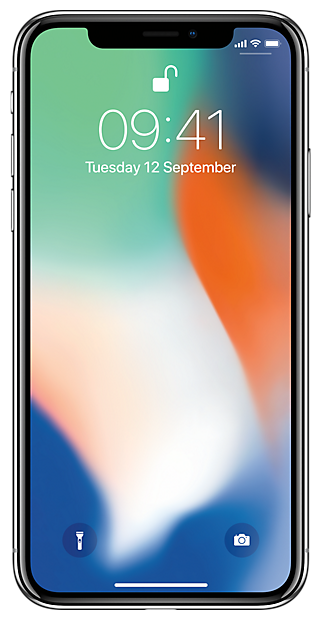 Apple iPhone X 64 GB Серебристый (Silver)