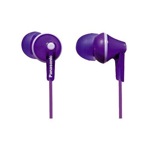 Наушники Panasonic RP-HJE125 фиолетовый panasonic rp hje125 e p
