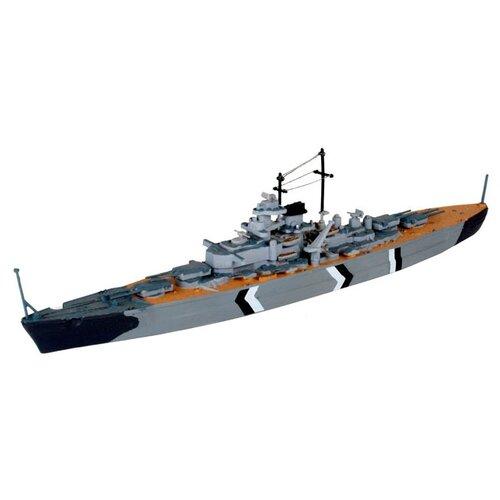 Сборная модель Revell Bismarck (05802) 1:1200 сборная модель revell battleship uss missouri 65128 1 1200