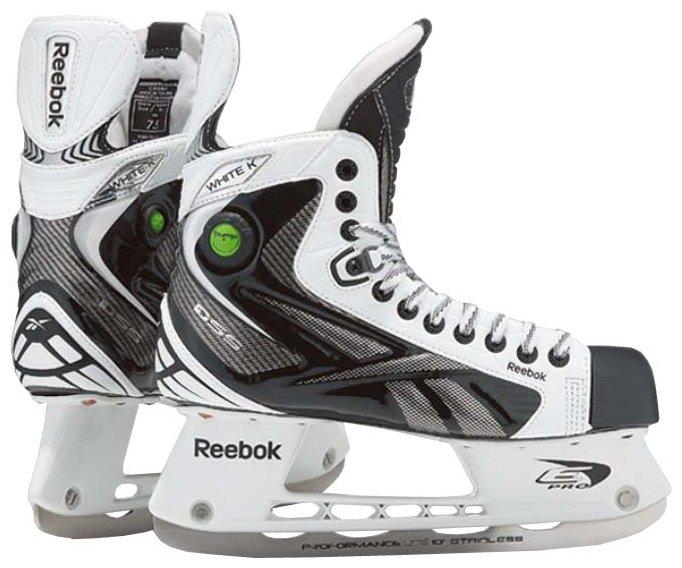 Хоккейные коньки REEBOK White K Pump