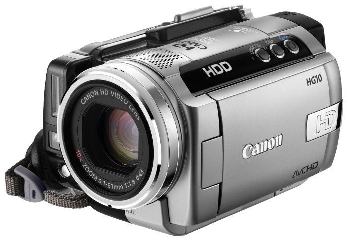 Сравнение с Canon HG10