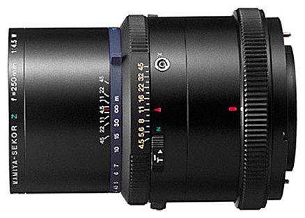 Объектив Mamiya Sekor Z 250mm f/4.5 RZ65