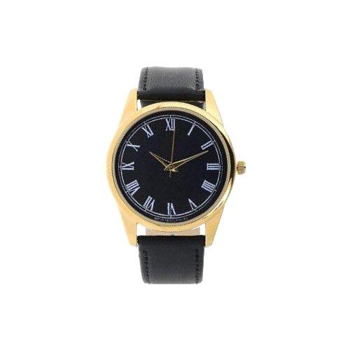 Наручные часы Mitya Veselkov Куранты на черном (Gold-11) карманные часы mitya veselkov