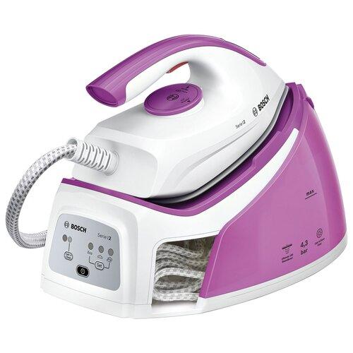 Парогенератор Bosch TDS 2110 розовый/белый