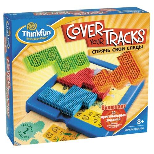 Головоломка ThinkFun Спрячь свои следы (3200-RU) синий thinkfun головоломка шахматы для одного
