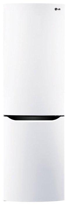 Холодильник LG GA-B409SQCL белый