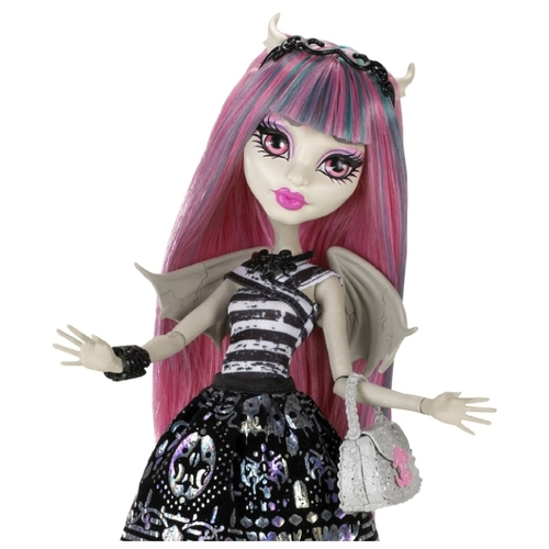 Кукла Monster High Рошель Гойл с питомцем, 27 см, X3650