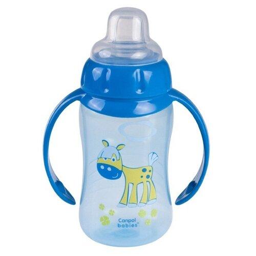 Фото - Поильник-непроливайка Canpol Babies 56/512, 320 мл синий поильник непроливайка canpol babies 56 512 320 мл бирюзовый
