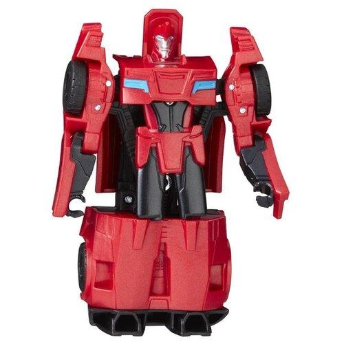 цена на Трансформер Hasbro Transformers Сайдсвайп. Уан-Стэп (Роботы под прикрытием) C0899 красный/черный