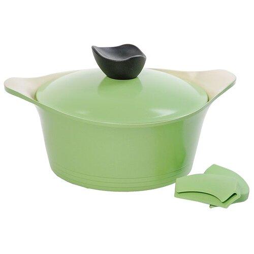 Кастрюля Frybest Ever Green 2,4 л, зеленый недорого
