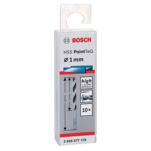 Фото - Сверло по металлу BOSCH PointTeQ 2.608.577.178 1 x 34 мм сверло по металлу bosch pointteq 9 мм
