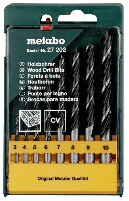 Набор сверл Metabo CV 627202000, 8 шт.