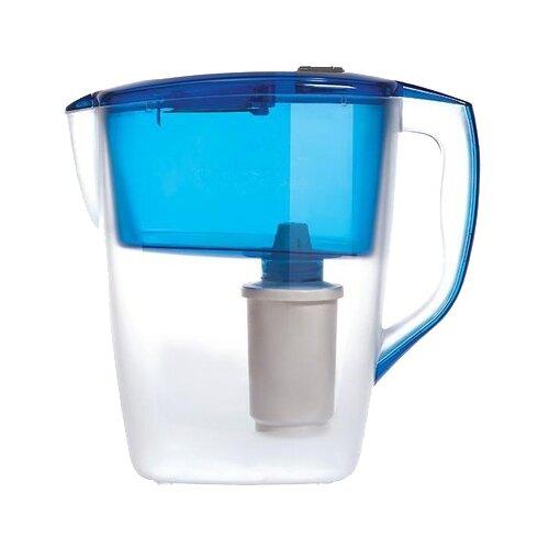 Фильтр кувшин Гейзер Геркулес 4 л синий фильтр кувшин гейзер дельфин 62035 сиреневый 3 0 л