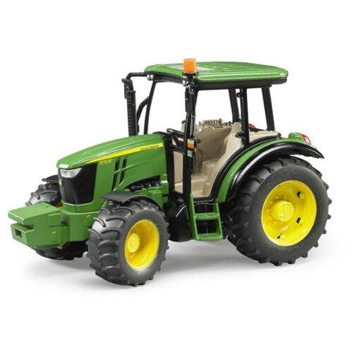 Трактор Bruder John Deere 5115M (02-106) 1:16 26 см зеленый трактор bruder john deere 6920