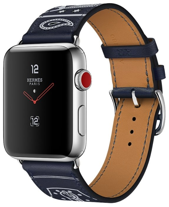 Часы Apple Watch Hermes Series 3 42mm with Single Tour Eperon d'Or