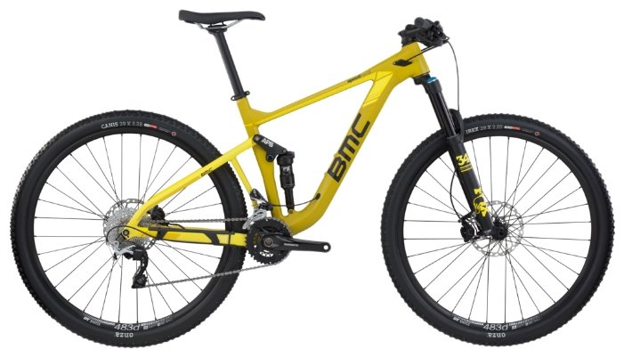 Горный (MTB) велосипед BMC Speedfox SF02 SLX/XT (2017)