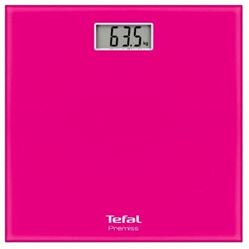 Весы электронные Tefal PP1063 Premiss Pink весы напольные tefal pp1063 premiss pink