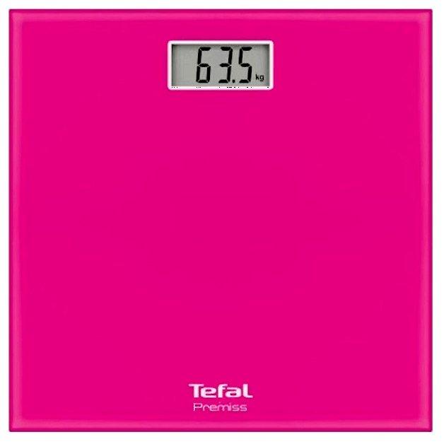 Напольные весы TEFAL PP1063V0, до 150кг, цвет: розовый [2100098635]