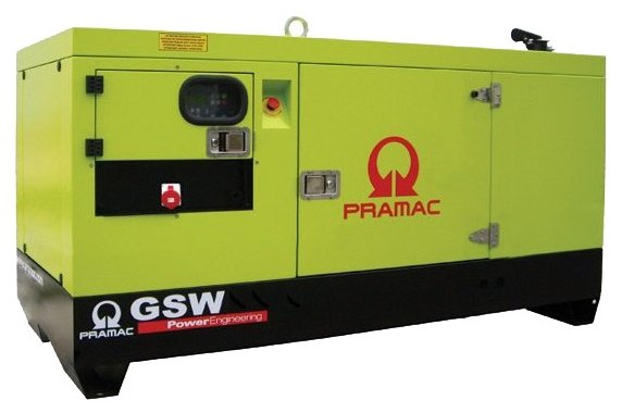 Дизельная электростанция Pramac GSW 15 Y 400V в кожухе с АВР