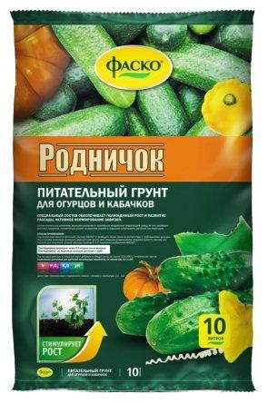 Купить Грунт Фаско Родничок 10 л. по низкой цене с доставкой из Яндекс.Маркета