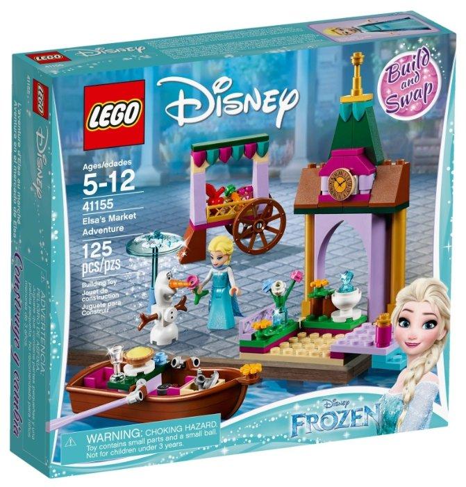Конструктор LEGO Disney Princess 41155 Приключения Эльзы на рынке