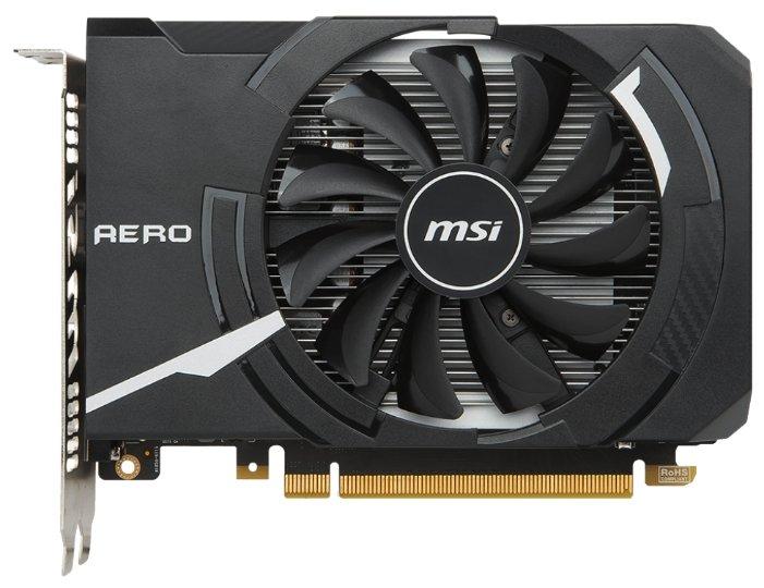 MSI Видеокарта MSI GeForce GTX 1050 1404Mhz PCI-E 3.0 2048Mb 7008Mhz 128 bit DVI HDMI HDCP AERO ITX OC