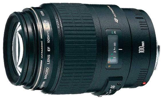 Canon Объектив Canon EF 100mm f/2.8 Macro USM