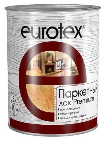 Лак EUROTEX Premium полуматовый (0.8 л)