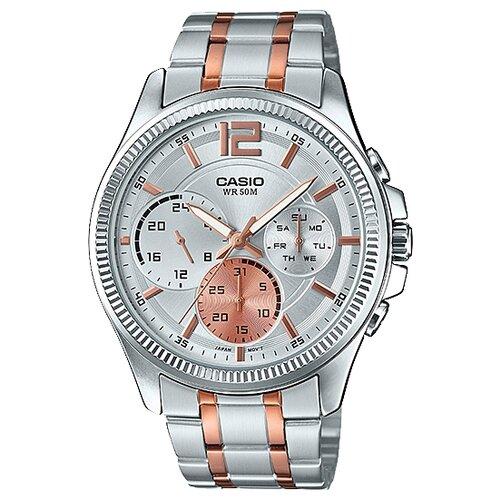 Наручные часы CASIO MTP-E305RG-7A наручные часы casio standart mtp 1154pq 7a