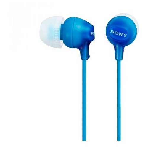 Купить Наушники Sony MDR-EX15LP синий