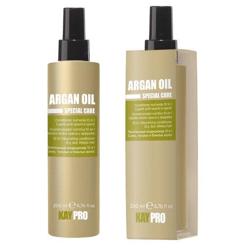 KayPro Argan Oil Кондиционер для волос 10 В 1 питательный с аргановым маслом, 200 мл farmstay шампунь кондиционер с аргановым маслом argan oil complete volume up shampoo