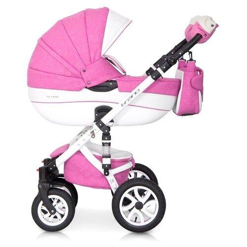 Универсальная коляска Riko Brano Ecco (2 в 1) 18 baby pink