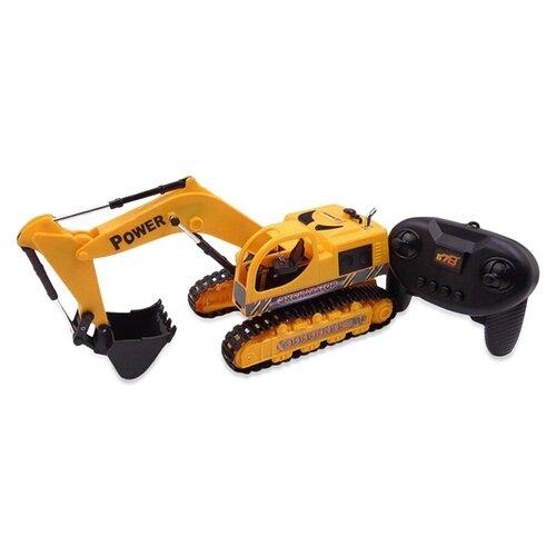 Экскаватор ABtoys Экскаватор (C-00223) желтый/черный трактор экскаватор plasto