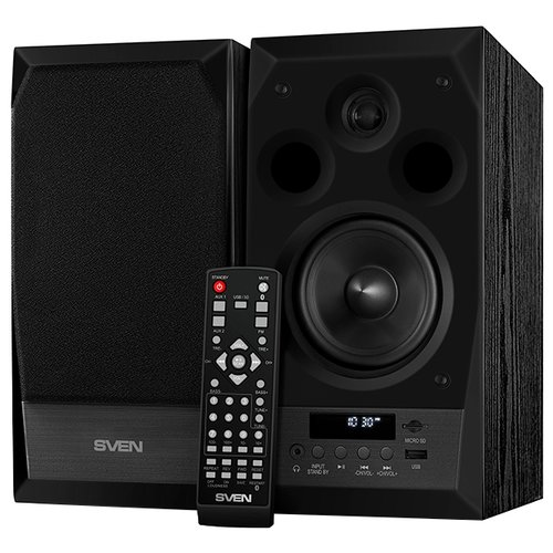 Компьютерная акустика SVEN MC-10 черный компьютерная акустика sven 120 черный