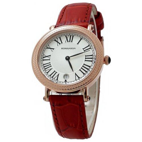 Наручные часы ROMANSON RL1253LR(WH)BN наручные часы romanson rm8a24llg wh