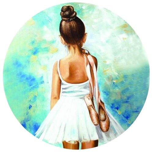 Купить Цветной Вышивка крестом Маленькая балерина 21 х 21 см (VC05), Наборы для вышивания