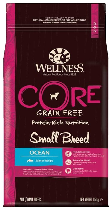 Корм для собак Wellness Dog CORE Small Breed Ocean