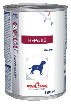 Корм для собак Royal Canin Hepatic при заболеваниях печени 420г